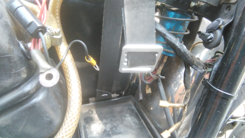 Norton new battery strap