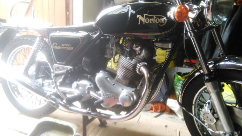 Norton Commando 850 Mk1a