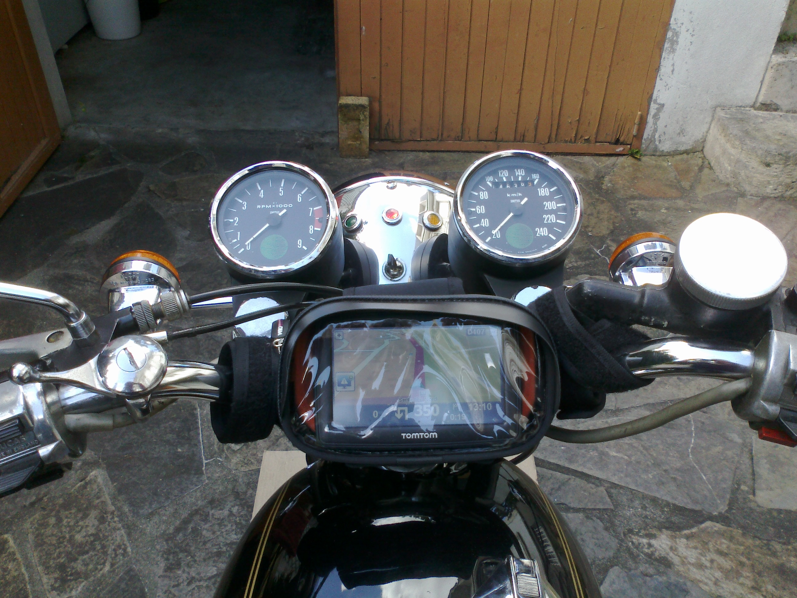 Norton with Tomtom